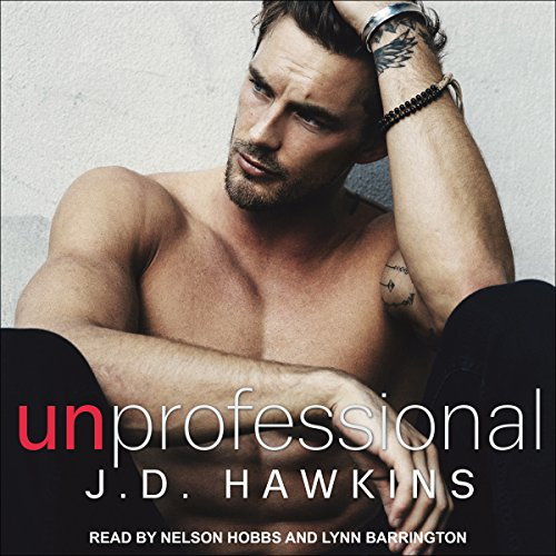 Unprofessional audiobook cover art
