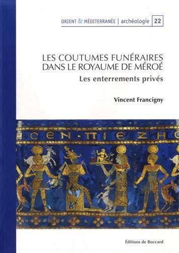 Les coutumes funéraires dans le royaume de Méroé : Les enterrements privés