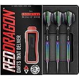 RED DRAGON Razor Edge Spectron 24g Freccette Tungsteno con Punta Acciacio, Voli e Freccett...