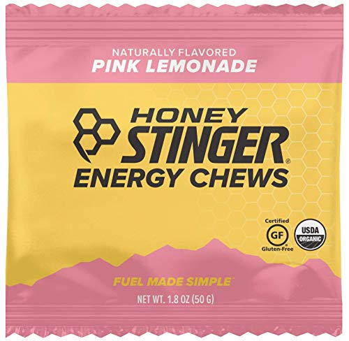 HONEY STINGER Organic Pink Lemonade Chews, 1.8 OZ