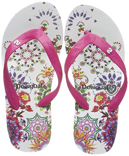 Desigual Damen Shoes (LOLA_Galactic) Zehentrenner Merhfarbig 41 EU