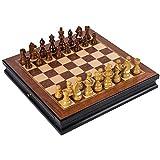 DJX Juego de ajedrez clásico Ajedrez Internacional, Juego de Mesa de ajedrez de Alta Gama Doble, ajedrez agravado Juego de Juegos de Mesa de ajedrez Internacional d