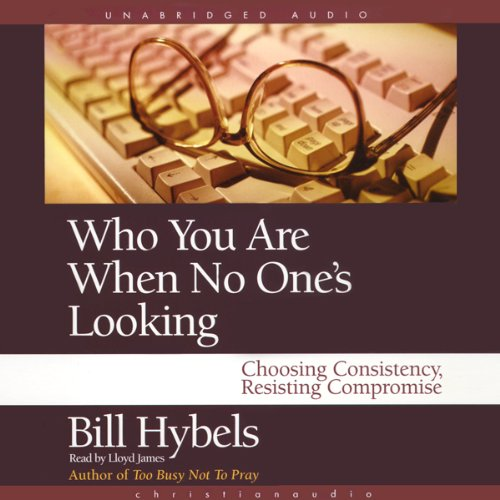 Who You Are When No One's Looking audiobook cover art