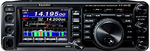 Yaesu Original FT-991A HF/50/140/430 MHz All Mode'Field Gear' Transceiver - 100 Watts (50 Watts on 140/430MHz) - 3 Year...