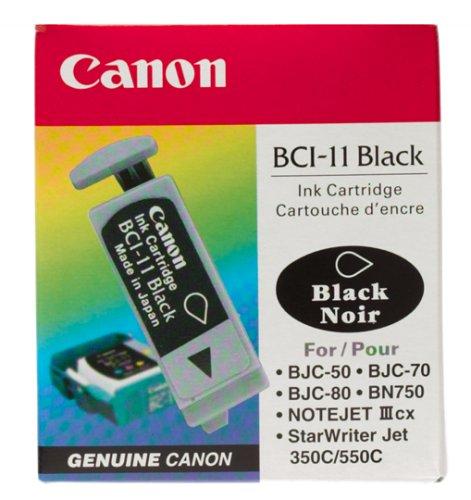 Price comparison product image Canon BCI-11 Black Ink Cartridge-3 Tanks