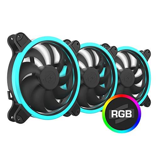 SilentiumPC Corona HP RGB Kit (3×140 mm) Gehäuse Lüfter