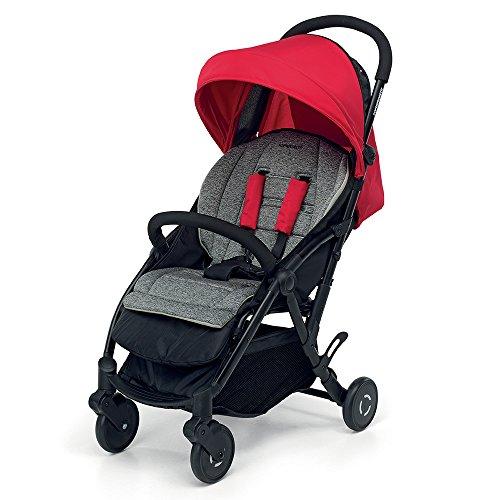Foppapedretti Boarding - Silla de paseo ligera y super compacta, color rojo