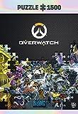Overwatch: Heroes Collage - Puzzle 1500 Piezas 85cm x 58cm | Incluye póster y Bolsa | Videojuego | Puzzle para Adultos y Adolescentes