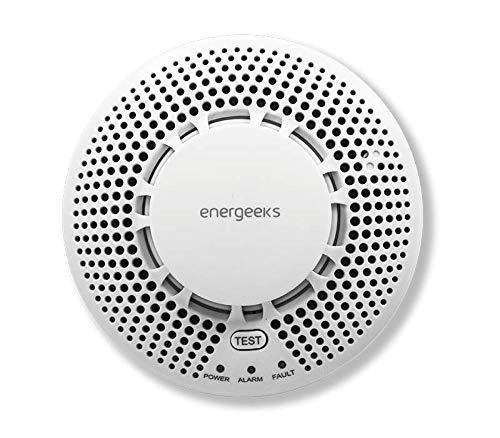 Sensor de Humo Compatible con el Sistema de Alarma WiFi/gsm Energeeks