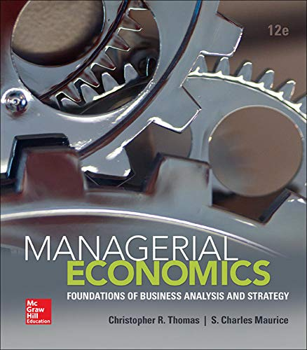 2 best managerial economics thomas 12th edition for 2020