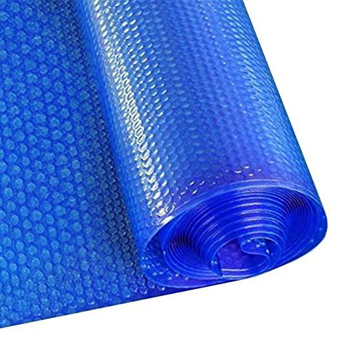 Lona alquitranada Cubierta de Piscina Solar de Burbujas, Rectángulo Calefacción Térmica Flotante Resistente Suelo Piscinas Lona, Manta Solar con Ojales de Refuerzo (Size : 4m x 7m(13ft×23ft))