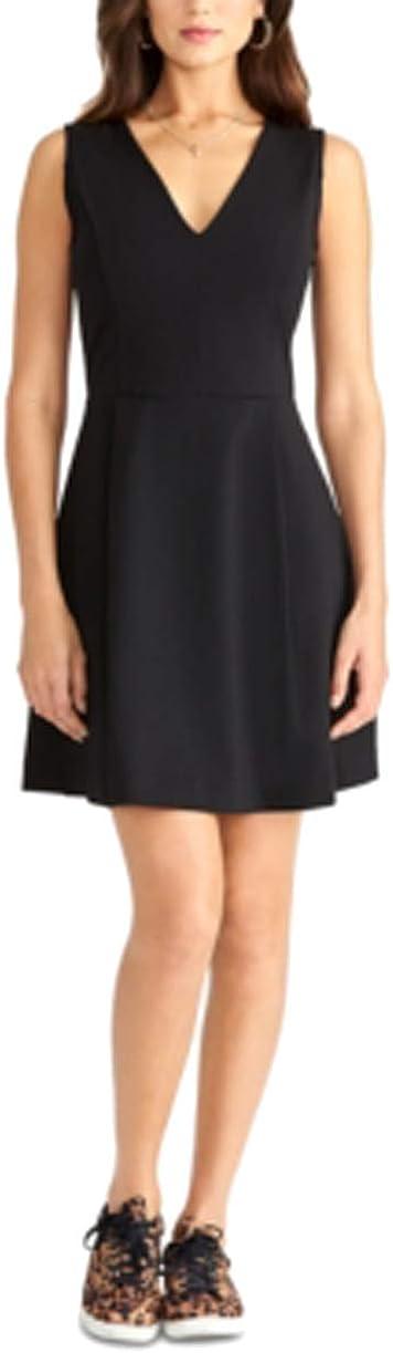 RACHEL Store Rachel Roy Womens Anise Mini V-Neck Department store Sleeveless Dress