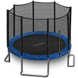Outdoor Trampoline with Enclosure 12FT - Full Size Backyard Trampoline...