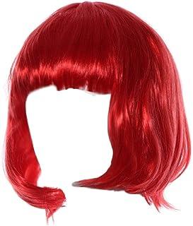 Brasiliano 360 pizzo frontale dritto stile Bob Remy capelli naturali parrucca del merletto con i capelli del bambino intorno capelli naturali nascita per le donne 130% densità 8-24 pollici Parrucche e parrucchi Accessori
