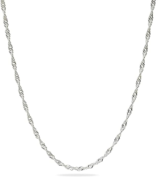 """Sterling Silver Pencil or Pen Pendant or Necklace in 16-24/"""" Length Solid .925"""