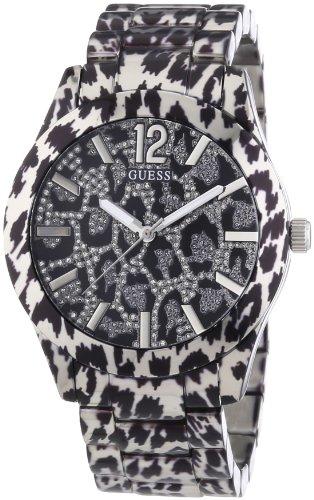 Guess Damen-Armbanduhr Analog Quarz Edelstahl W0001L1