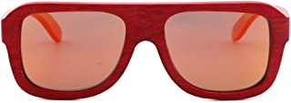LUKEEXIN Personalized Fashion Polarized Sunglasses, UV Protection Suit for Women, Men, Boy, Girl (Color : Red)