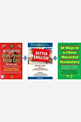 Word Power Made Easy + Better English + 30 Days to More Powerful Vocabulary (Set of 3 books) Paperback
