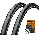 Set: 2 x Conti Ultra Sport 2 Rennrad Drahtreifen schwarz