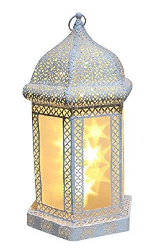 Hologramm Laterne mit Netzstecker Beleuchtung auch für Weihnachten 38 cm