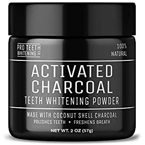 Pro Teeth Activated Coconut Charcoal Powder