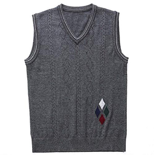 GL SUIT Heren Gilet V-hals Vest Mouwloos Knitwear Trui Klassieke Gentleman Vesten Gebreide Taillejas Wol Cashmere Trui Tank Tops
