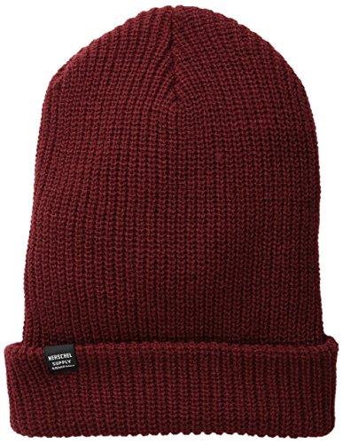 Herschel Herren Mütze Quartz Beanie - Rot - Einheitsgröße