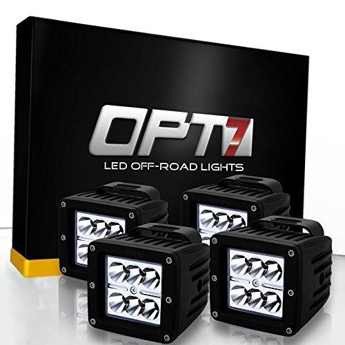 4 pcs opt7 18w cree led pods wiring harness fog light 18w cree led pods wiring harness fog light work lamp spot light for off road atv utility good quality at reasonable price