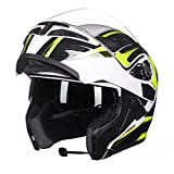 HongTong-Helmet Cycling Helmets, Motorcycle Helmets, Visor Helmets, Full-Cover Helmets, Dual-Lens Riding Helmets, Universal in All Seasons, A Variety of Colors Available