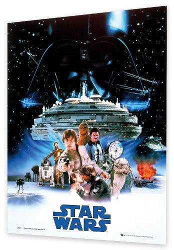 GB eye Ltd 3D Linsenraster-Poster Star Wars, Das Imperium schlägt zurück, 47 x 67 cm