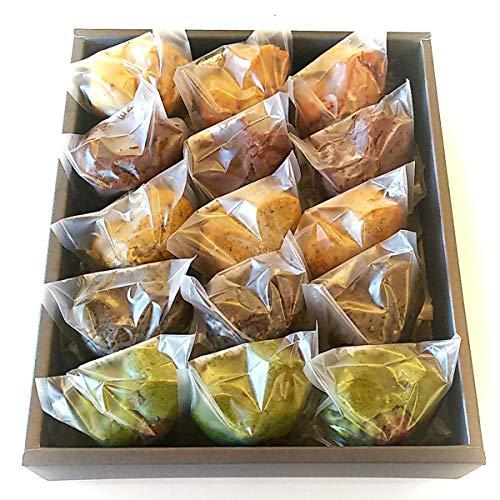 Vegan Sweets マフィンセット 〔全5種15個〕 宮城県 マクロビ 米粉菓子 精進スイーツ結び