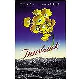 zkpzk Österreich Tourismus Reise Poster Innsbruck Tirol