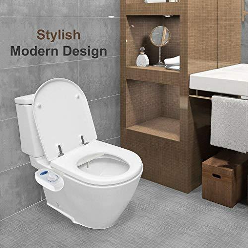 Baslinze NEU Bidet Frischwasserspray Mechanische Bidet Toilettensitzbefestigung Nicht elektrisch