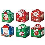 Caja de Regalo Caja plegable Fácil de montar Cajas para regalos de fiesta Elaboración Cartulina...