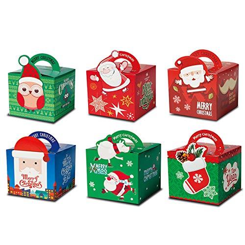 Caja de Regalo Caja plegable Fácil de montar Cajas para regalos de fiesta Elaboración Cartulina Cumpleaños Compromiso Boda Navidad