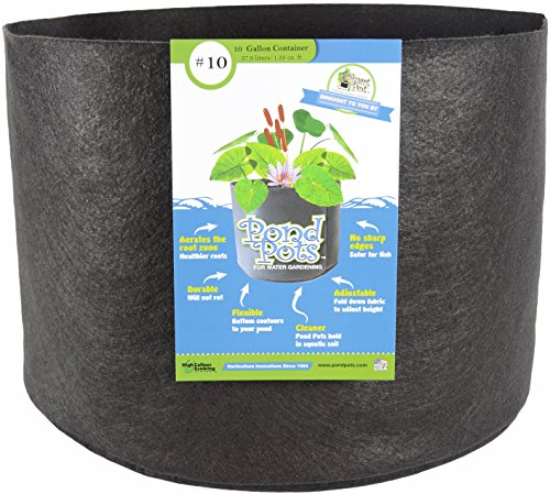Smart Pots Pond Flexibele Aquatic Plant Container voor Water Gardening 10 gallon