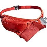 SALOMON Active Belt Cinturón de Hidratación, Botella 3D 600 ml incluida, Unisex Adulto, Rojo, One Size