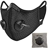 Ichen Dust Mask Anti Pollution Face Cycling Mask with Carbon filter Air Filters Fitness Mask for Racing...