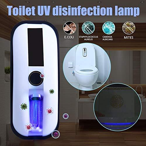 LYYJIAJU Intelligente Toilet Sterilizer UV Germicidale Lamp Oplaadbare Zonne-energie Automatische Toilet Deksel Sterilizer Badkamer Accessoire