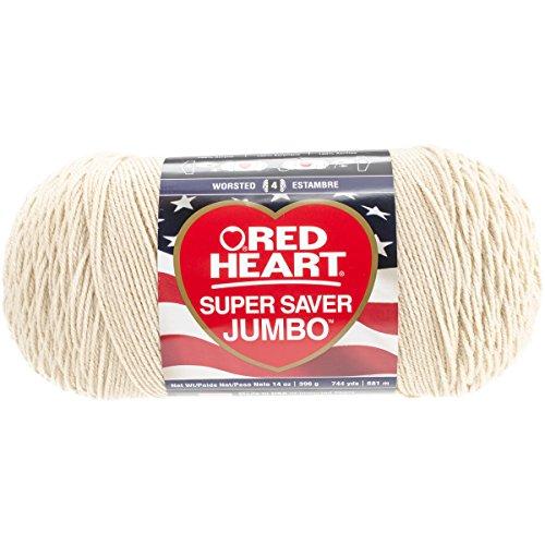 Red Heart Super Saver Jumbo Yarn – Buff