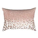 Kaiki Modern Kissenbezug Rosegold 30X50 cm, Kissen Bezug Sofa Taille Throw PillowCover schönes...