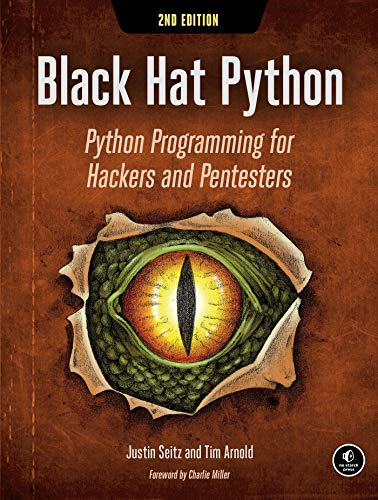Black Hat Python, 2nd Édition /Anglais: Python Programming for Hackers and Pentesters