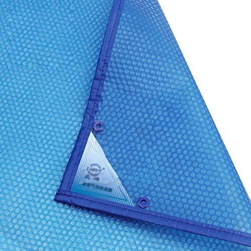 Cobertor Solar para Piscinas Cubierta De Manta Solar Azul For Piscina sobre...