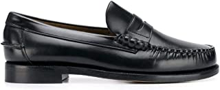 Luxury Fashion | Sebago Men 7000300902 Black Leather Loafers | Spring-summer 20