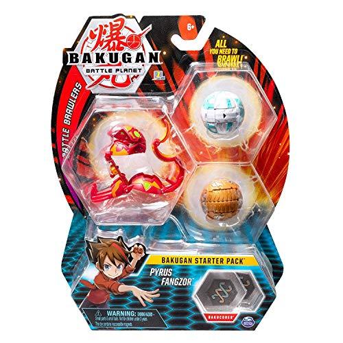 BAKUGAN Starter Pack Pyrus Fangzor