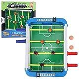 Qqmora Mini portátil Duradero para niños, fútbol de Mesa, Juguete para niños, Escritorio de fútbol, para Deportes, 10.24x10.83x1.97 Pulgadas