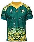 LRH 2020 Rugby - Camiseta de rugby de la Copa del Mundo Australia para hombre, de manga corta,...