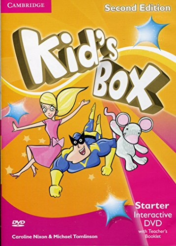 Kid's Box Starter Interactive DVD (NTSC) with Teacher's Booklet Second Edition - 9781107631144