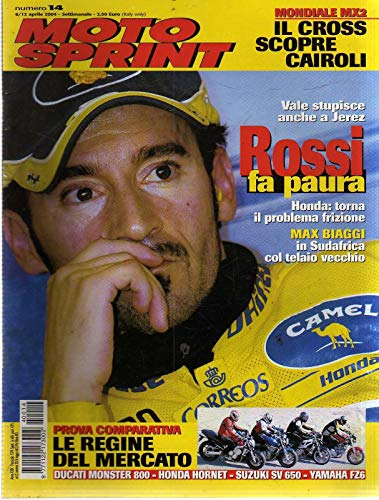Motosprint 14 Aprile 2004 Ducati Monster 800, Suzuki SV 650, Yamaha FZ6