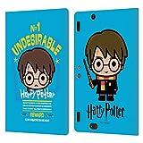 Head Case Designs Oficial Harry Potter Recompensa Deathly Hallows I Carcasa de Cuero Tipo Libro Compatible con Amazon Kindle Fire HDX 8.9